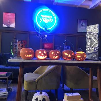 YOYO WALLET LIMITED - Pumpkin carving to get us in the spirit at Halloween.