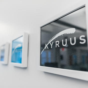 Kyruus, Inc. - Wall of Kyruus Shirts -