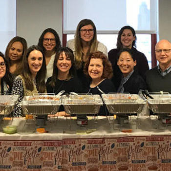 OnDeck - It's potluck time! Grateful for our team members