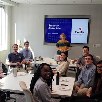 Excella Consulting - Excella's Summer Associates at our Extension Center at Virginia Tech
