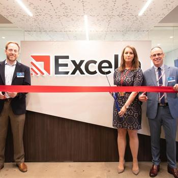 Excella Consulting - Excella celebrates with Arlington County officials to launch the expansion of our headquarters!