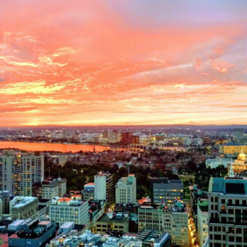 Nanigans - Sunset view from our Boston office