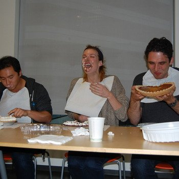 Anki - Out of business - Anki Pie Eating Contest