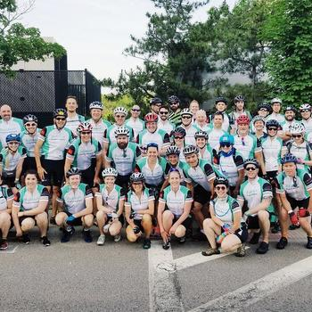 Buildium LLC - Check out the Powered by Buildium Team - Day 1 of the MS Ride from June 2018