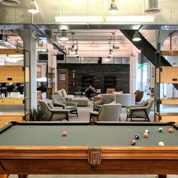 Looker - Game of pool at our San Francisco office.
