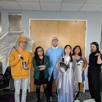 Plum Voice - Halloween vibes