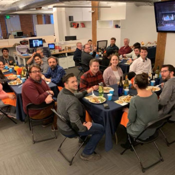 Skyhook Wireless - Our annual Thanksgiving Skyhook Family Supper