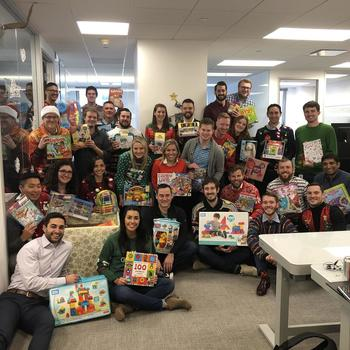 Inspire11 LLC - Annual Holiday Toy Drive