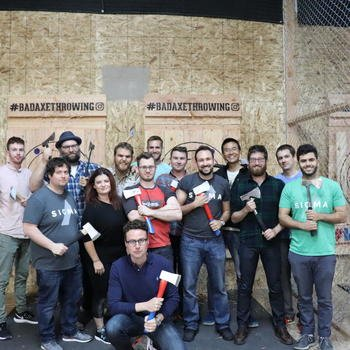Merit Inc. - Team Axe Throwing