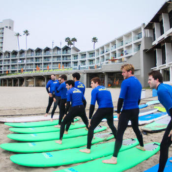 Merit Inc. - Team surfing lessons!