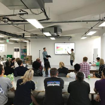 "Farmdrop - At Farmdrop we believe in sharing knowledge and have weekly ""show and tell"" meetings to share what we have been working on or interesting company updates."