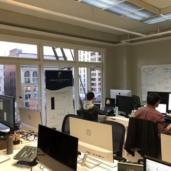 Time by Ping - A glimpse at Ping's office in Union Square