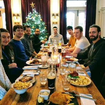 OpenMarket - Team bonding in our London office!