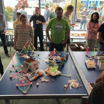 OpenMarket - A little competition in our Seattle Office