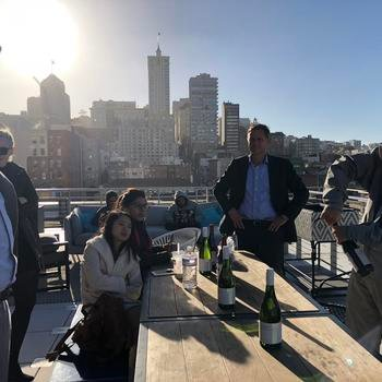 Winmore - Rooftop meeting with some of Napa's finest!