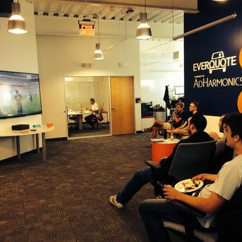 Everquote, Inc. - Afternoon World Cup watching