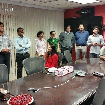McFadyen Solutions - Celebrating Birthday's at McFadyen