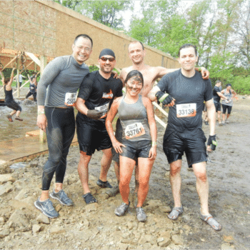 Enova - Our Tough Mudder finishers post-race!