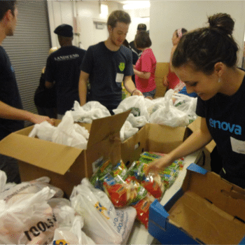 Enova - Our teams participate in regular volunteer events, and are actively involved with a number of local programs