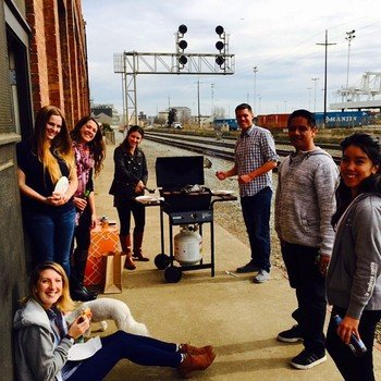 Educents, Inc - Thursday Grill Outs are the norm.