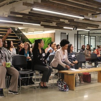 FiscalNote - Discussion with our partners Women in Tech and DC sponsor of Girls in Tech!