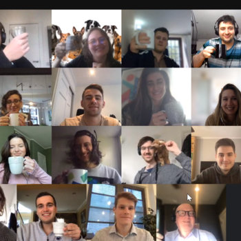 Yieldify - Raising money for charity on Naitonal Tea Day, virtually!