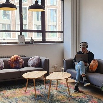 Yieldify - We love our office space, it's chill and social all in one.