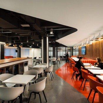 Alphasights Inc. - Kitchen/Lounge