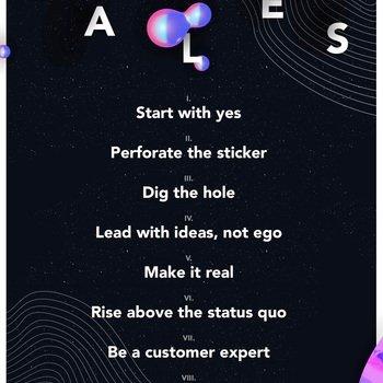 Frame.io, Inc. - Frame.io's 9 Values in list form.