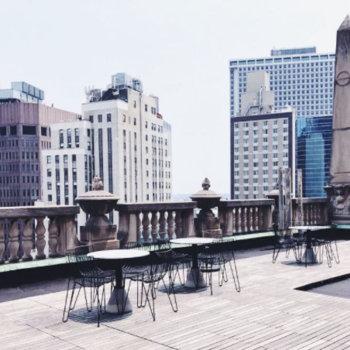 Smartfrog&Canary - Office balcony area, New York