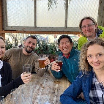 Hearsay Systems - Nothing beats a happy hour with the Recruiting and Product teams