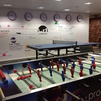 PRODUCT MADNESS (U.K.) LIMITED - ping pong, foosball and regular game-nights