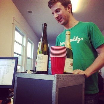 LoungeBuddy - First class service from Tyler (CEO) at happy hour