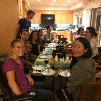 Apptimize - Team dinners at the CEO's house