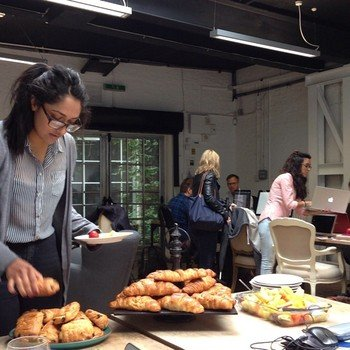 Swoon Editions - Breakfast meeting at Swoon HQ