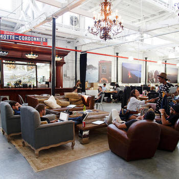 VICE Media - Friday breakfasts include bagels, coffee, and meeting coworkers at the bar