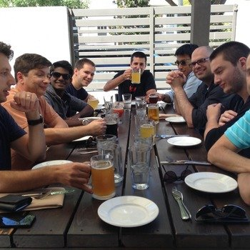 Loop Commerce - We have a team lunch catered by our favorite restaurants every Friday