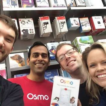 Tangible Play - Osmo in Apple Store