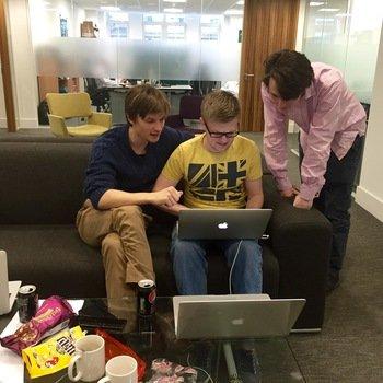 Deko - Hackathon Team 1 working on their project