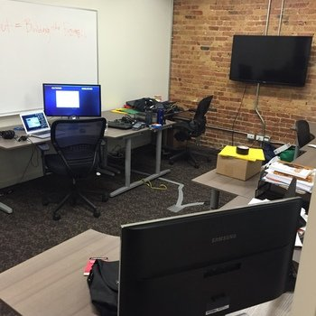 BookedOut - Brand New, spacious office location just blocks from the Merchandise Mart in downtown Chicago.