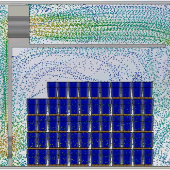 Lineage Logistics, LLC - We use computational fluid dynamics to understand airflow in industrial freezers.