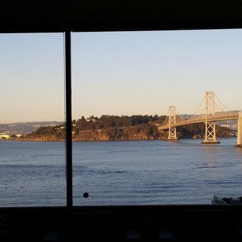 DocuSign - This is the incredible view from our SF Office and it's ever changing and fun to watch!
