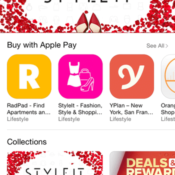 Peekabuy - StyleIt featured for the Best New Apps for Valentine's day