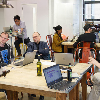 Metail - We like to host meetups for the Cambridge tech community