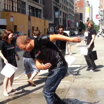 Canvs - We did the ice bucket challenge...to our CEO!