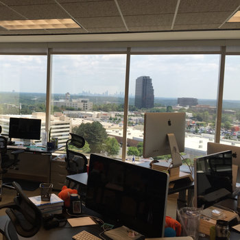 ShootProof - Tons of natural light and great views of downtown Atlanta