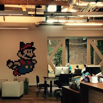 GitHub - Get some work done in our inside park area. Don't feel like enjoying the outdoors inside? We have a roof patio with views of the water too.