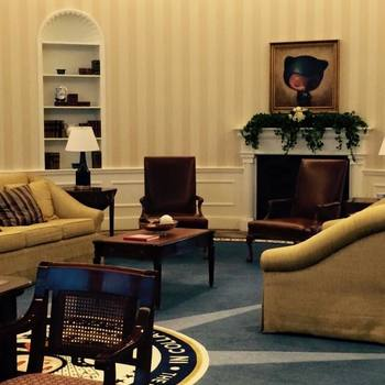 GitHub - Every company needs their own replica of the oval office. Ours would not be complete without our company mascot, Octocat!