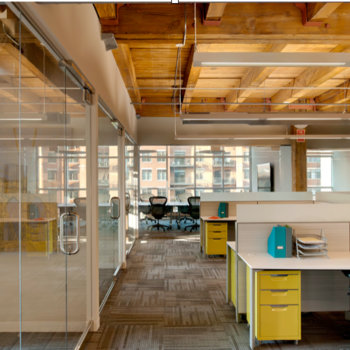 CNX Corporation - Open loft-style collaborative work environment in downtown Chicago near Ogilvie train station.