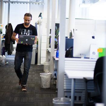 eBay, Inc - We've got a lovely open office in Chelsea